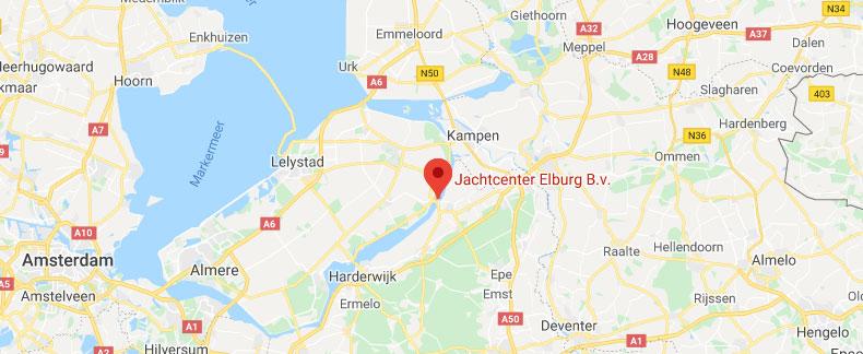 Bekijk Jachtcenter Elburg op de kaart